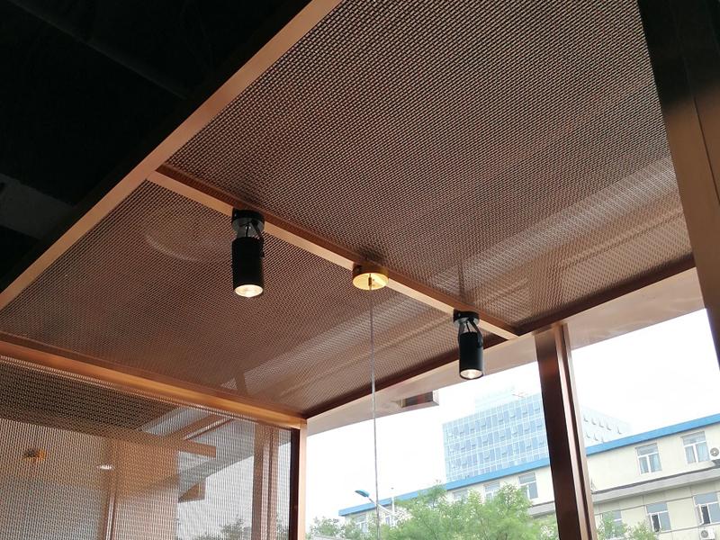金属装饰网应用工程