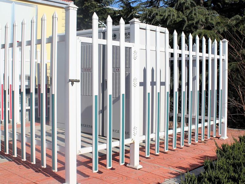 电力锌钢护栏防护