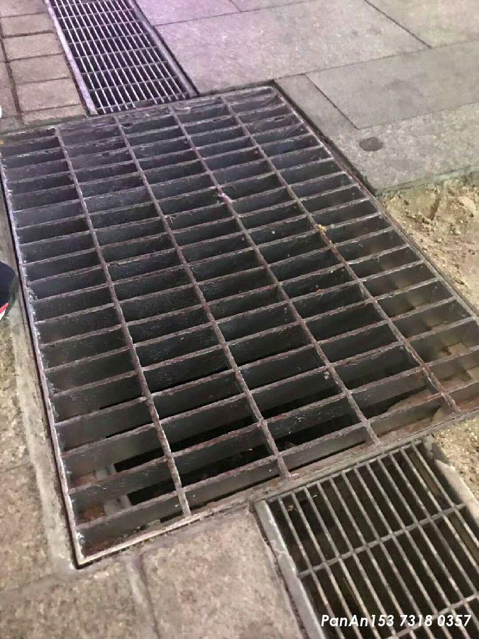 下水道插接钢格板